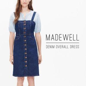 Overall Denim Dress by Madewell - Sz. 00